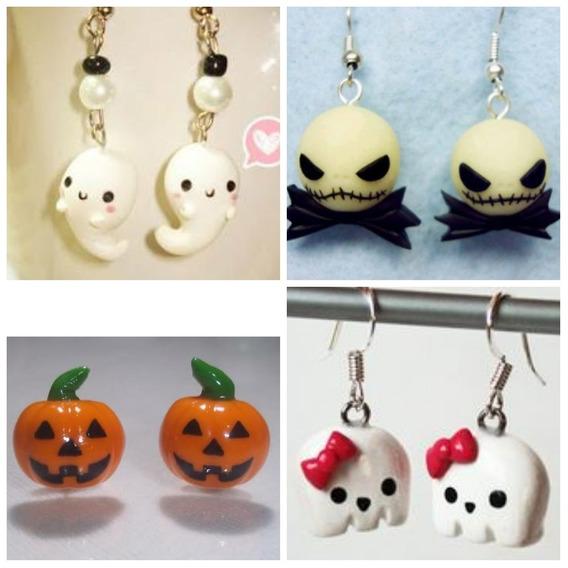 Aretes Halloween Docena