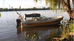 Traker 620 + Trailer + Motor Mercury 55 Hp Sea Pro !!!
