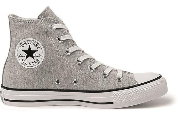 Tênis Converse Chuck Taylor All Star Hi Aço Branco