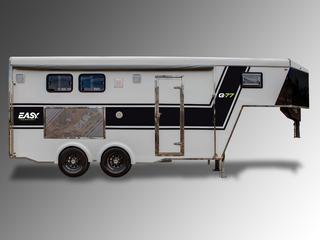 Trailer Quinta Rodas Easy Transport G-77 - 02 Cavalos