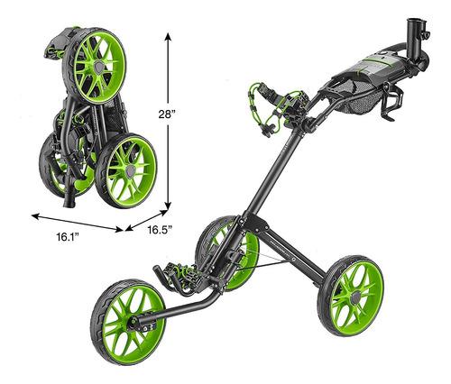 Caddytek Caddylite 15.3 V2 - Carro De Empuje De Golf De Lujo