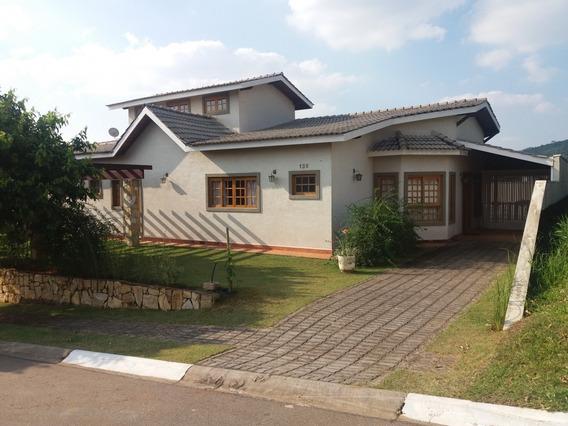 Casa Para Venda No Condomínio Terras De Atibaia I Em Atibaia - Ca75