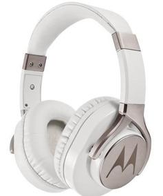 Fone De Ouvido Motorola Pulse Max Wired C/ Microfone- Branco