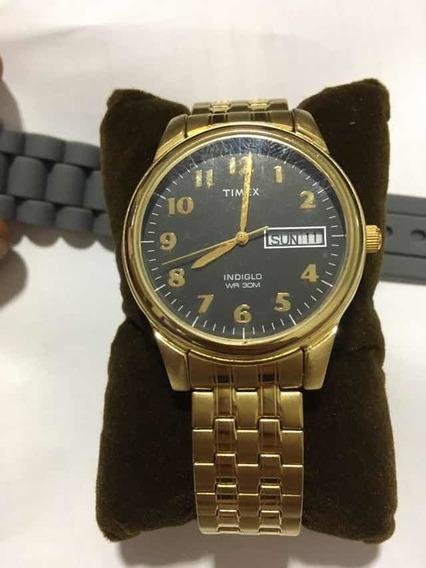 Relógio Timex Indiglo Wr 30 M