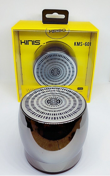 Kit 6 Caixa De Som Mini Speaker Via Wireless Kimiso-kms-601