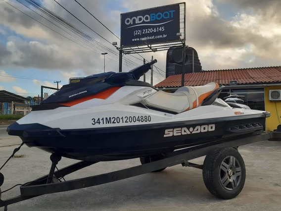 Jet Ski Sea Doo Gti 130 Carreta Rodoviária Só De Água Doce
