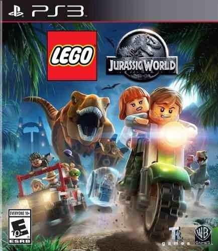 Lego Jurassic World Ps3 Psn Digital Pt Br Envio Na Hora!!!