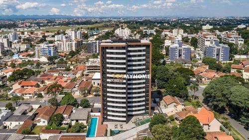 Apartamento Garden Com 3 Dormitórios À Venda, 102 M² Por R$ 1.103.680,22 - Bacacheri - Curitiba/pr - Gd0260