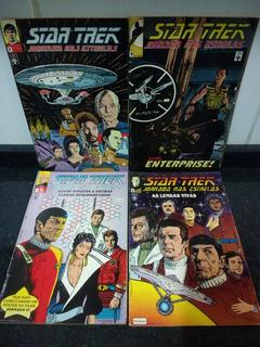Lote 4 Hq Star Trek Jornada Nas Estrelas - Abril Rjhm