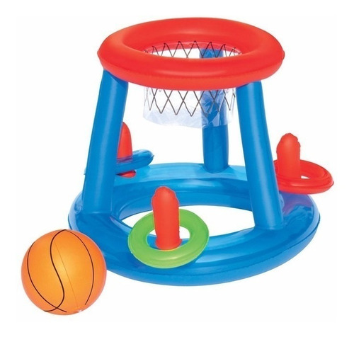 Juego Aro Basketball Inflable 61 Cm Bestway Cuotas