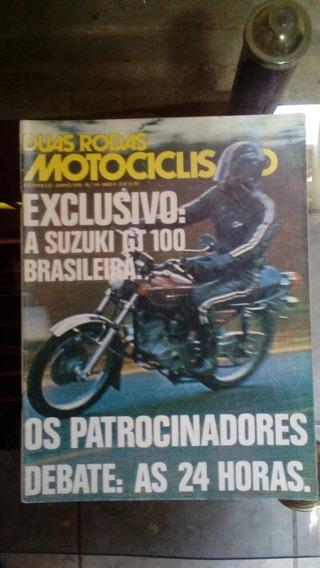 Revista 2 Rodas Numero 14 Em Otimo Estado