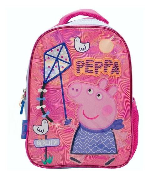 Mochila Espalada Jardín 12 Peppa Pig - Giro Didáctico