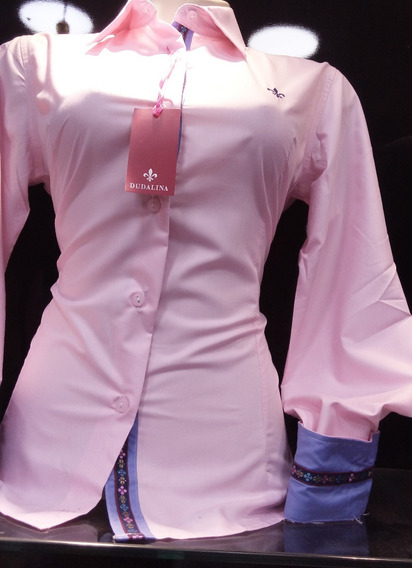 Só Hj Promoção Camisa Social Dudalina Feminina Lisa