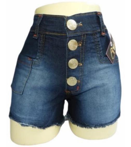 10 Shorts Jeans Cintura Alta Revenda Horpant Com E Sem Lycra