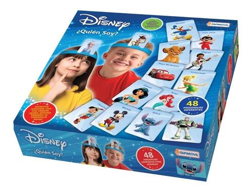 Imagen 1 de 4 de Disney Quien Soy ? Juego De Mesa Juguete Original Nene Nena