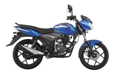 Bajaj Discover 125 Frenos Cbs Azul. 2021
