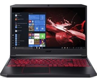 Notebook Gamer Acer Nitro I7 9na 8gb Ssd512 Gtx1650 Slim Alu