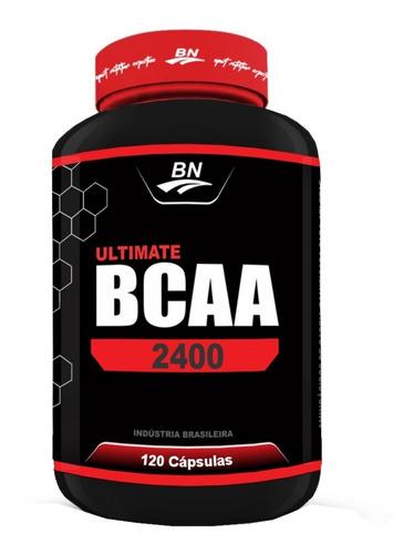 Combo Ultimate Bcaa 2400 120 Caps Bio Nutrition( 3 Unidades)
