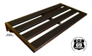 Pedal Board Rail 60x30cm (mxr Boss Pedal Guitarra)