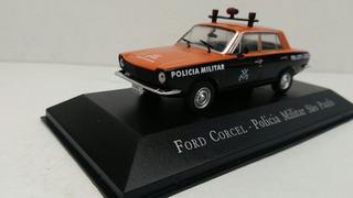 Miniatura Ford Corcel Polícia Militar De São Paulo