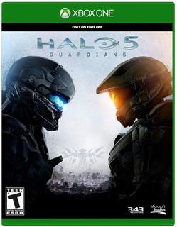 Halo 5 Guardians Xbox One Español Sellado Delivery Stock Ya