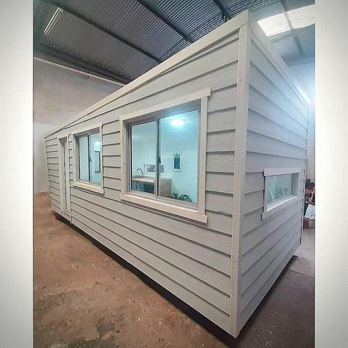 Casa Tipo Container Transportable Modulo Habitacional Siding