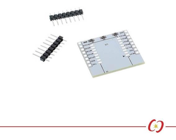 Placa Adaptador Para Soldar Esp12e Esp8266