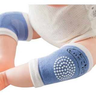Rodilleras De Gateo Antideslizantes Para Bebé Nueva Versión