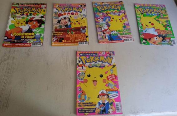Revistas Pokémon Club E Pokémon Quadrinhos - 20 Unidades