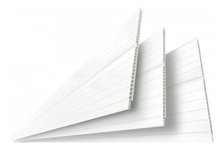 Forro De Pvc Polifort 8m² - Branco Neve Bj