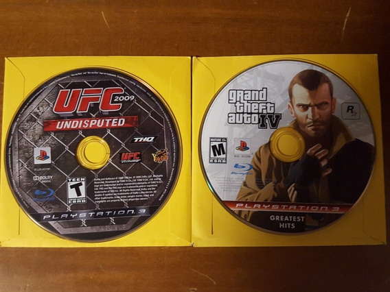 Gta Iv + Ufc Undisputed 2009 Ps3
