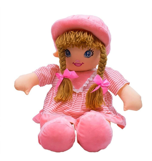 Boneca Fofy Rosa