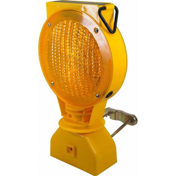 Lampara Destellos Amarilla Foco Energia Solar Silverline