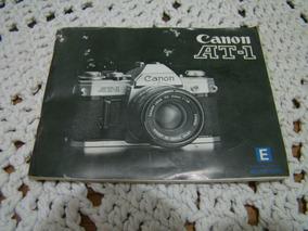 Manual Da Câmera Fotográfica Canon At-1