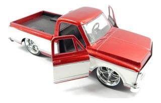 Carrinho Jada Chevy Cheyene Pickup (1972) 1:32