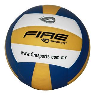 5 Balones Voleibol #5 Microfibra Piel Sintetica Fire Sports