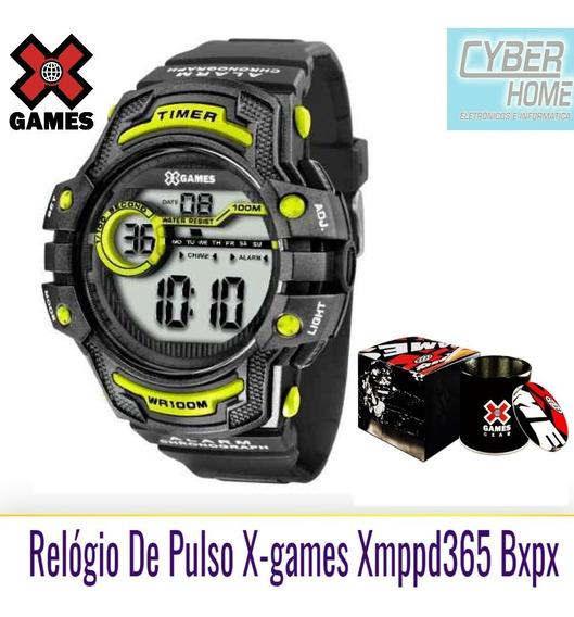 Relógio De Pulso X-games Xmppd365 Bxpx
