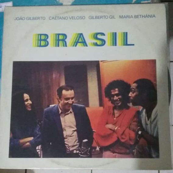 Lp João Gilberto, Caetano, Gil E Maria Bethânia Brasil