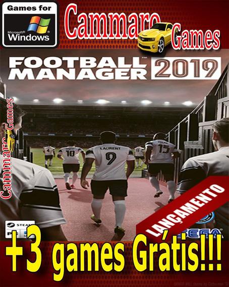 Football Manager 2019+ 3 Games Grátis Da Loja