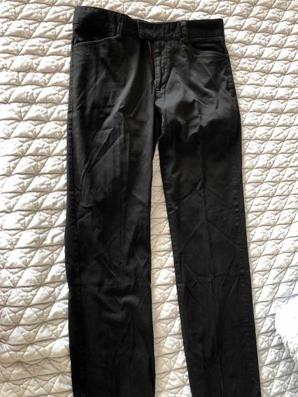 Pantalón Negro Hombre Bobois
