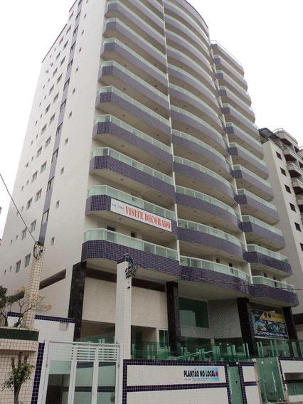 Cobertura 3dorms/2suites A 50m Da Praia Caiçara/pg- R$80mil - V412594
