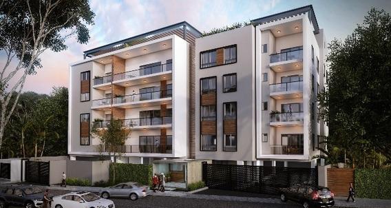 Apartamentos En Santiago, En Plano