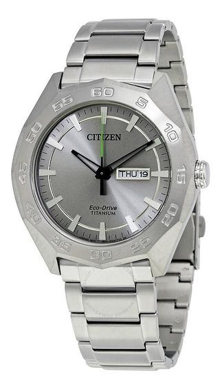Reloj Citizen Eco Drive Super Titanium. Nuevo. Aw 0060-54a