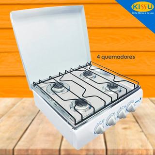 Cocineta Durex 4 Quemadores Garantia 1 Año Tablero Acer Inox