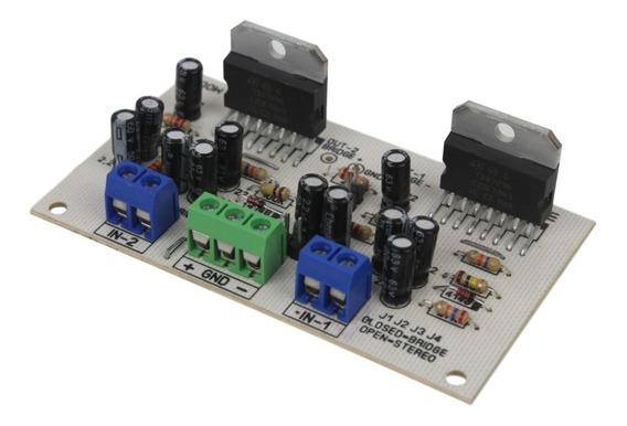 Placa Montada Amplificador 200w Mono Ou Stereo Com Tda7294
