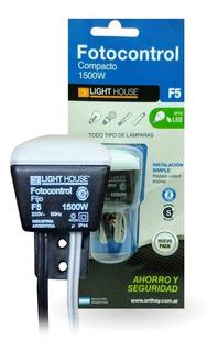 Fotocontrol Fotocelula Sensor Iluminación 1500w 4 Cables Led