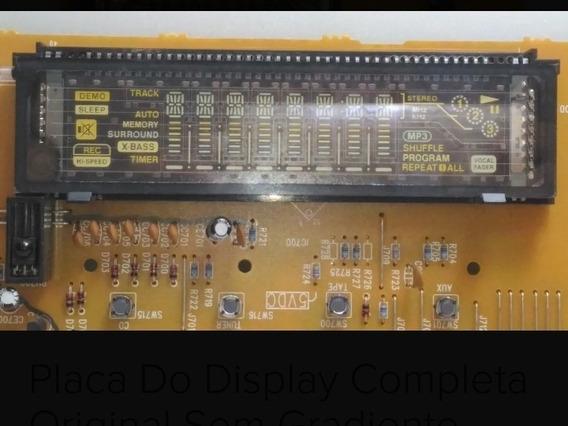 Placa Do Display Do Som Gradiente As 320 + Placa Do Rádio.