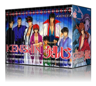 Samurai X Dvd - Colección + Pelicula Y Ovas- Rurouni Kenshin