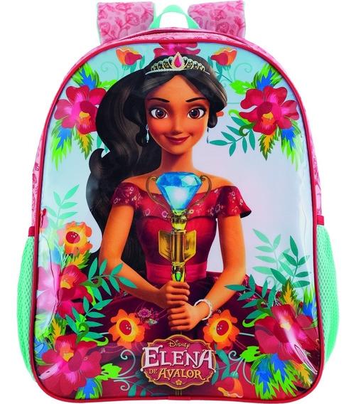 Mochila Costa Infantil Elena Secret Média Original Mod-2020