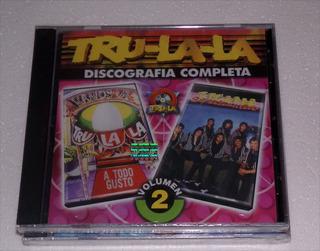 Tru-la-la Discografia Completa Vol.2 Cd Nuevo / Kktus